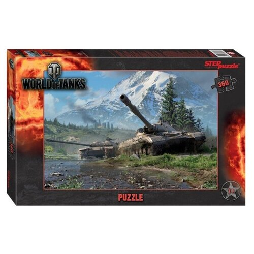 Пазл Step puzzle World of Tanks (96078), 360 дет. пазл step puzzle степ пазл 1000 эл world of tanks 79604