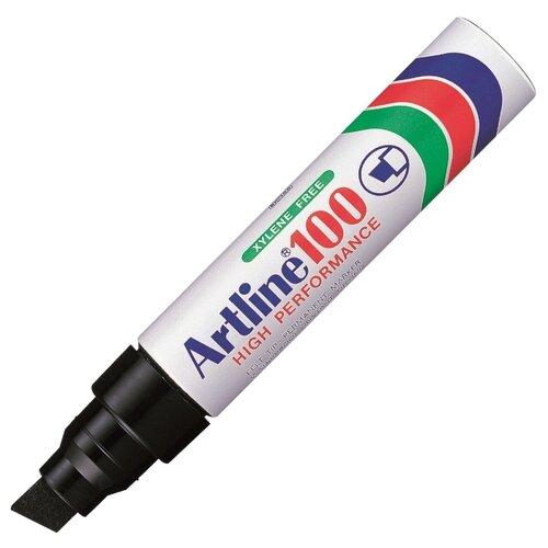 Купить Гигантский перманентный маркер с широким клиновидным наконечником Artline EK100, 7, 5-12, 0 мм, черный, Маркеры