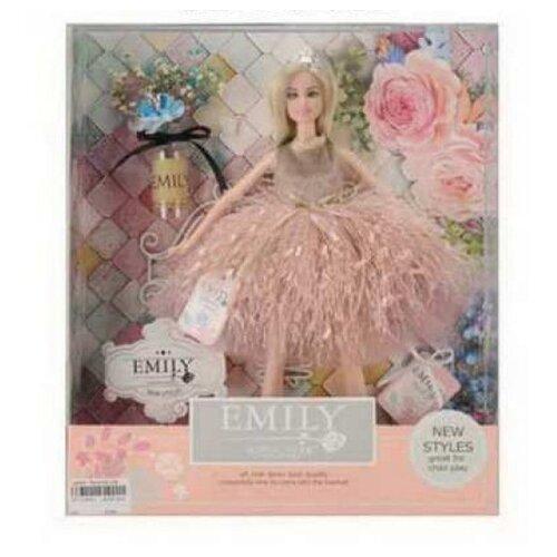 Купить Кукла Junfa toys Эмили Розовая серия, 30 см, QJ077B, Куклы и пупсы