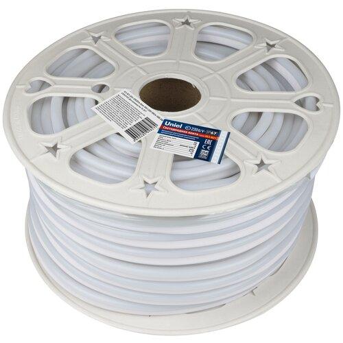 Светодиодная лента Uniel ULS-N21-2835-120LED/m-8mm-IP67-220V-8W/m-50M-DW, 50 м