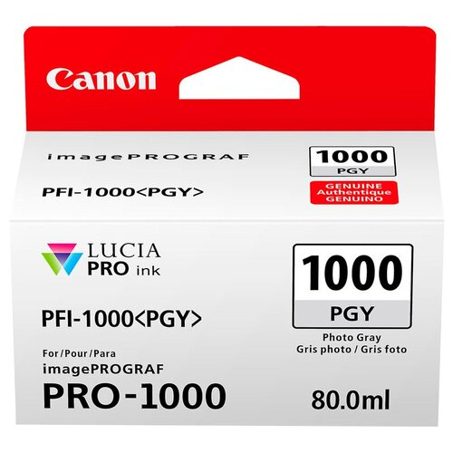 Фото - Картридж Canon PFI-1000PGY (0553C001) картридж canon pfi 1000pgy 0553c001