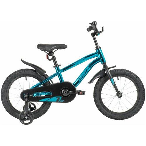 Фото - Детский велосипед Novatrack Prime 16 Al (2020) металлик синий металлик (требует финальной сборки) детский велосипед novatrack urban 16 2019 синий требует финальной сборки