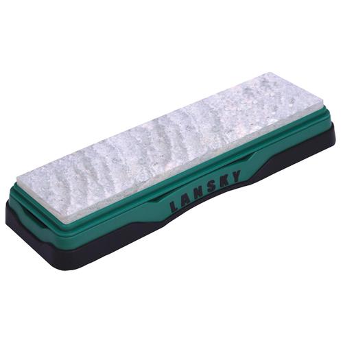 Точильный камень Lansky Soft Arkansas Stone (LBS8S) зеленый/черный точильный камень arkansas lansky lbs6h hard твердый