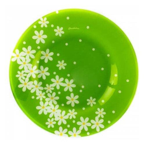 Pasabahce Тарелка обеденная Garden 26 см green