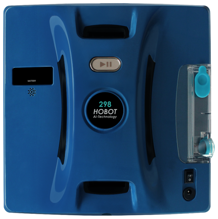 Робот-стеклоочиститель HOBOT 298 Ultrasonic, синий