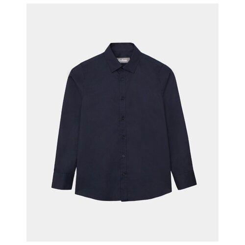 Купить Рубашка Gulliver размер 128, синий, Рубашки