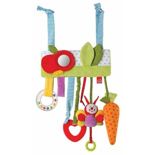 Купить Подвесная игрушка Happy Baby Сад (330355) красный/зеленый/голубой, Подвески