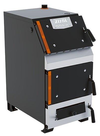 Твердотопливный котел ZOTA Тополь-22ВК 22 кВт одноконтурный