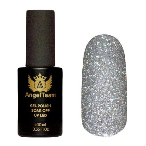 Гель-лак для ногтей AngelTeam Crystal Ice, 10 мл, Silver Spark