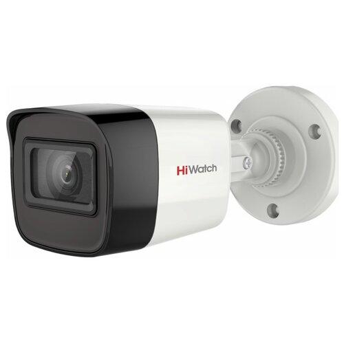 Камера видеонаблюдения HiWatch DS-T520(C) (3,6 мм) белый/черный