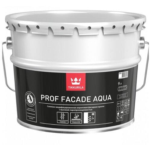 Краска акриловая Tikkurila Prof Facade Aqua матовая 9 л 1 (A/BW) краска интерьерная tikkurila joker a 9 л