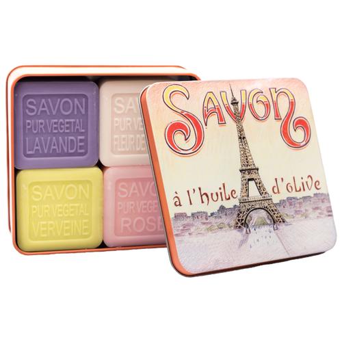 Купить Набор кускового мыла La Savonnerie de Nyons La Tour, 100 г, 4 шт.
