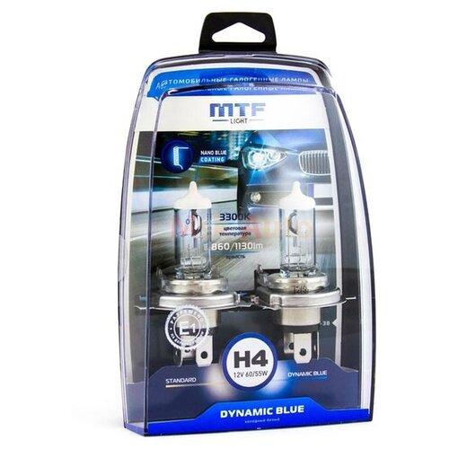 Фото - Лампа автомобильная галогенная MTF Dynamic Blue HDB1204 H4 12V 60/55W 2 шт. лампа автомобильная галогенная mtf dynamic blue hdb1280 h27 880 12v 27w 2 шт