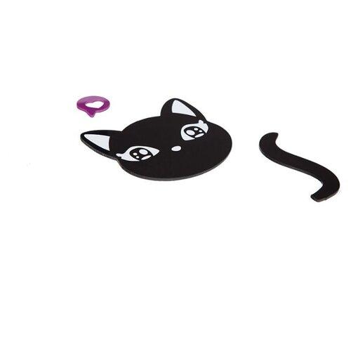 Наклейка на выключатель DS Studio Кошка Ангелина, объемная