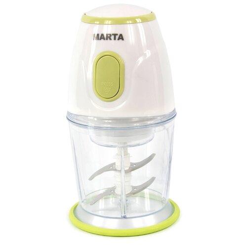 Измельчитель MARTA MT-2073 зеленая яшма/белый