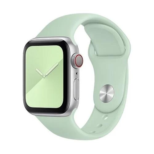 Gurdini Ремешок силиконовый для Apple Watch 38/40mm beryl