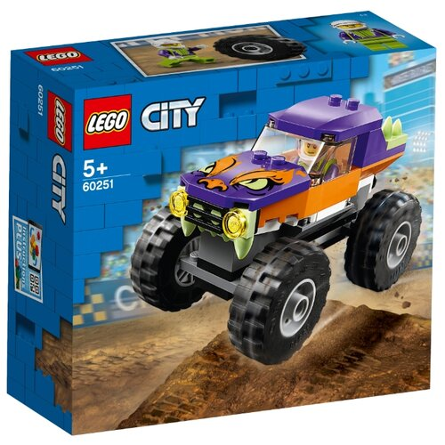 Конструктор LEGO City 60251 Монстр-трак конструктор city lego lego mp002xb00c9t