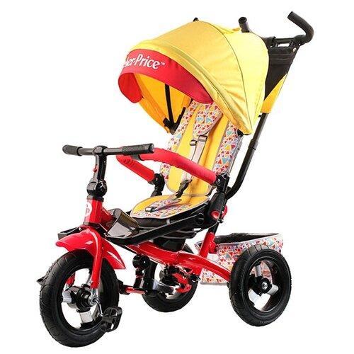 Купить Трехколесный велосипед Fisher-Price HF9 желтый, Трехколесные велосипеды