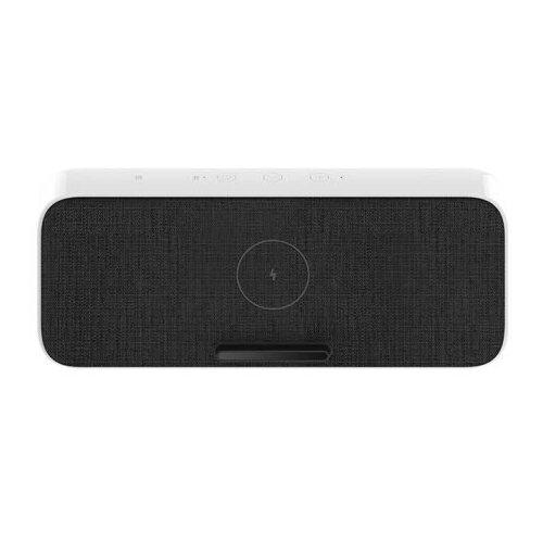 Портативная акустика Xiaomi Wireless Charge Bluetooth Speaker, white портативная акустика xiaomi outdoor bluetooth speaker mini черный
