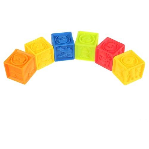 Купить Набор для ванной Играем вместе Кубики (LXN-3C-6) разноцветный, Игрушки для ванной