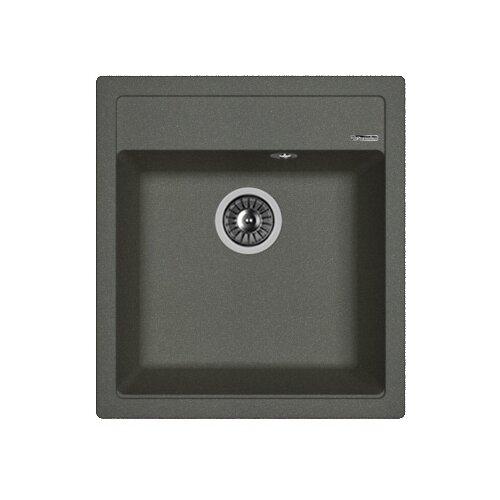 Врезная кухонная мойка 46 см FLORENTINA Липси-460 FG 20.280.B0460.102 черный