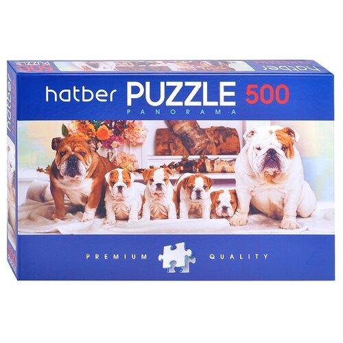 Купить Пазл Hatber Premium Панорама Собачки (500ПЗ2_18371), 500 дет., Пазлы