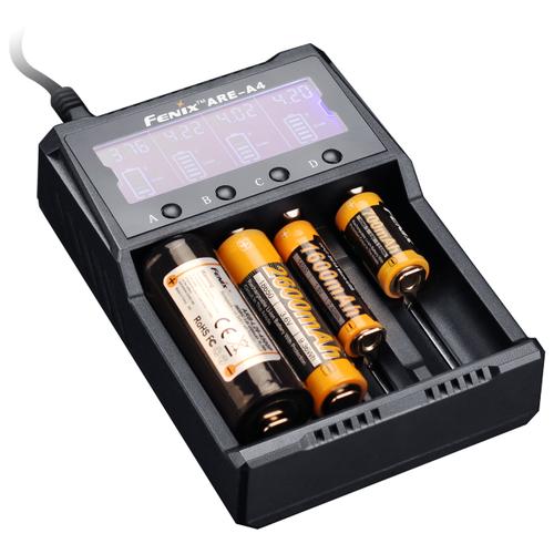 Фото - Зарядное устройство Fenix ARE-A4 зарядное устройство turbo черное