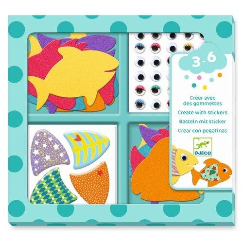 Купить DJECO Набор для творчества Рыбки (09052), Поделки и аппликации