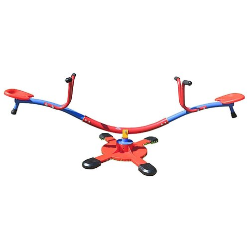 качели детские exit toys качели карусели DFC Качели-карусели (SE-06) синий/красный