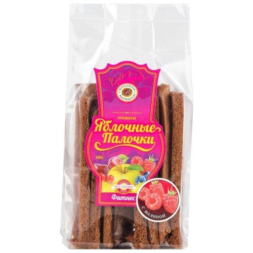 Пастила Вологодская мануфактура Яблочные палочки Фитнес с малиной без сахара 150 г
