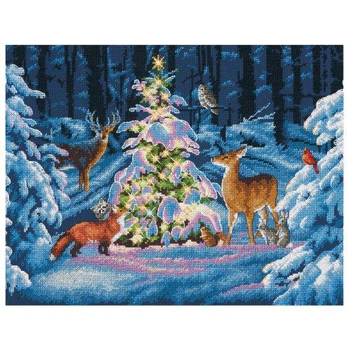 Купить Dimensions Набор для вышивания Лесное сияние 35.5 x 27.9 см (70-08922), Наборы для вышивания