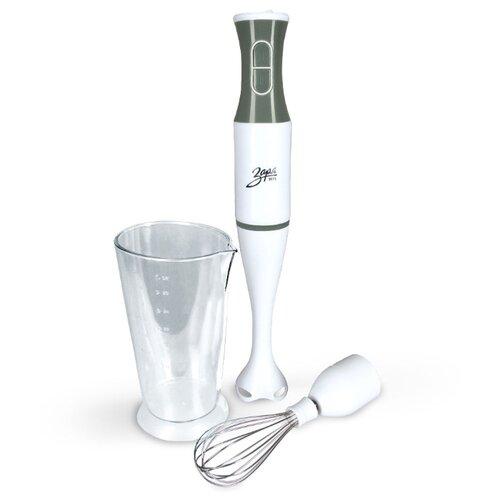 Погружной блендер Заря 300-04, белый/серый
