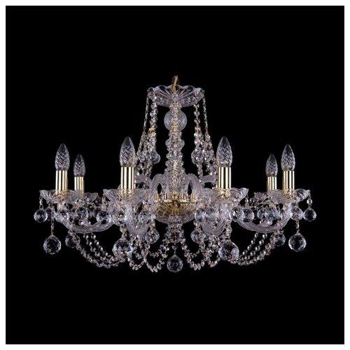 Люстра Bohemia Ivele Crystal 1406 1406/8/240/G/Balls, E14, 320 Вт