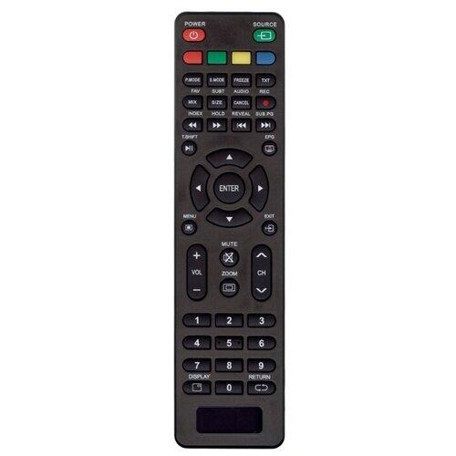 Пульт ДУ Huayu RS41-DCG для телевизоров Akira 32LEC05T2S/Digma DM-LED24R201BT2/Orion ПТ-60ЖК-170ЦТ/Supra STV-LC24LT0040W/Dexp H32D7000Q/Leben LE-LED24 черный