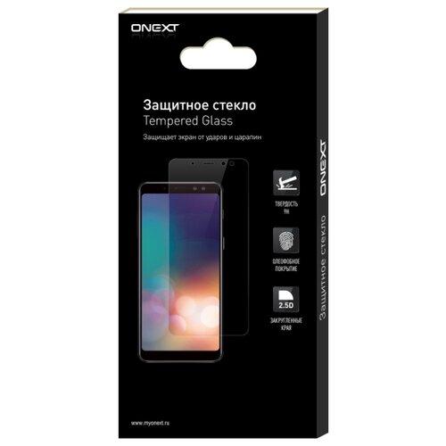 Защитное стекло ONEXT для Apple iPhone X прозрачный защитное стекло onext для iphone 7