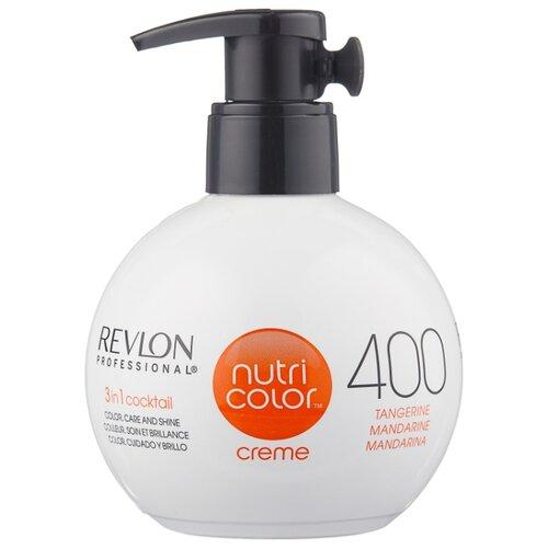 Крем Revlon Professional Nutri Color 3 in 1 cocktail 400 Tangerine, 270 мл revlon крем краска nutri color creme 270 мл
