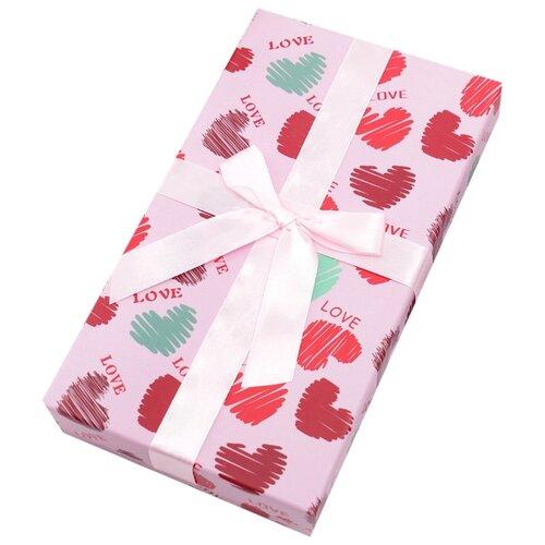 Коробка подарочная Yiwu Zhousima Crafts Любовь 23 х 13 х 4 см 1820261 розовый