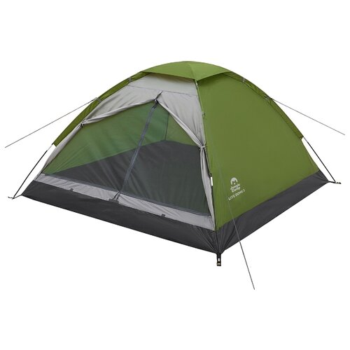 Палатка Jungle Camp Lite Dome 3 зеленый/серый палатка jungle camp lite dome 4 mono dome 4 зеленый серый 70813 70883