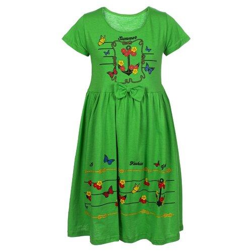 Платье M&D размер 122, зеленый