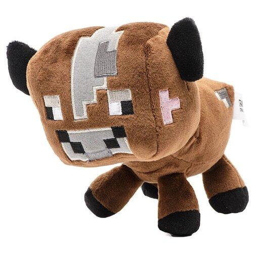 Мягкая игрушка Minecraft: Baby Mooshroom (коричневый) (18 см)