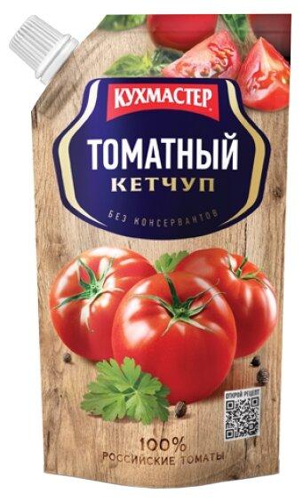 Кетчупы и соусы Кетчуп Кухмастер 350г томатный дой-пак