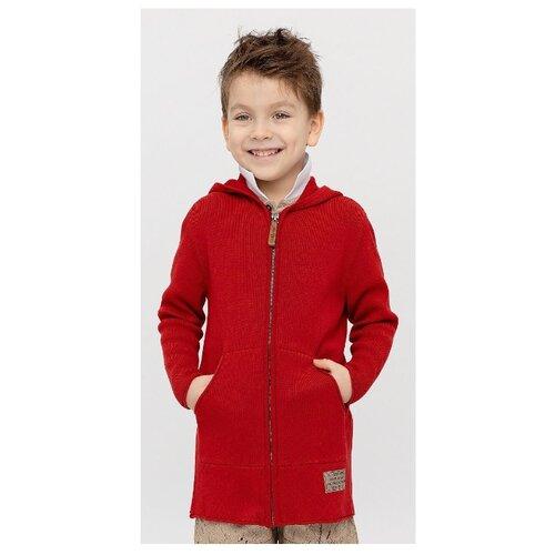 Кардиган Gulliver размер 104, красный футболка gulliver размер 104 красный