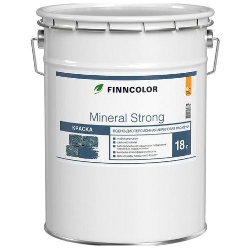 Краска акриловая FINNCOLOR Mineral Strong матовая белый 18 л