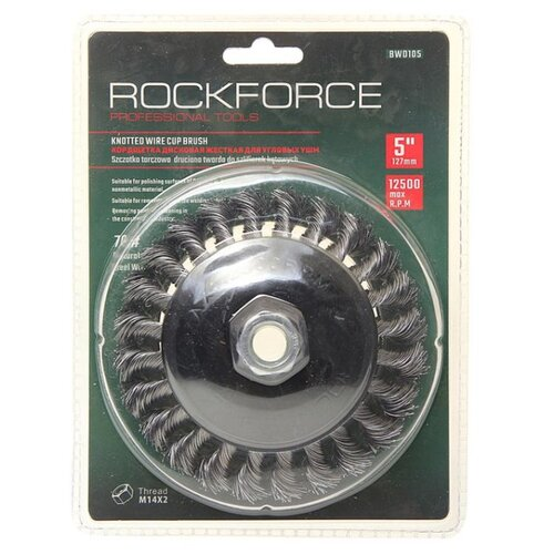 Фото - Кордщетка ROCKFORCE RF-BWD105 кордщетка rockforce rf bwf004