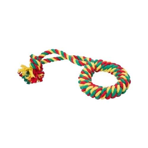 Канат для собак Doglike Кольцо канатное большое (D-2359) цветной