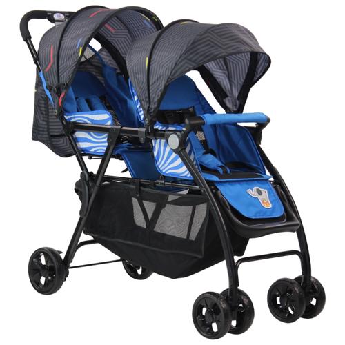 Купить Прогулочная коляска Farfello Vivid Plus синий, Коляски