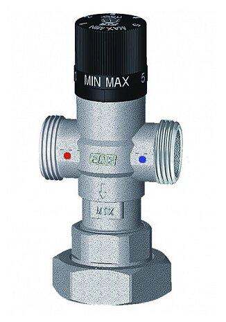 Трехходовой смесительный клапан термостатический FAR 3951 1 муфтовый (НР), Ду 25 (1