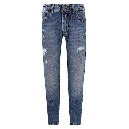 Джинсы ATTIC21 размер 128, синий джинсы женские zarina цвет синий 8123414717103 размер 46