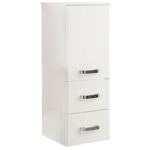 Шкаф-пенал для ванной АКВАТОН Америна 1A137803AM010, (ШхГхВ): 34.4х32.2х89.9 см, белый
