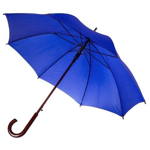 Зонт-трость полуавтомат Unit Standard (393) ярко-синий зонт unit basic red